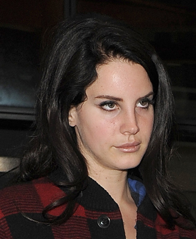 Lana Del Rey Scowling
