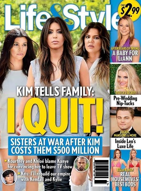 Kim Kardashian Quits?