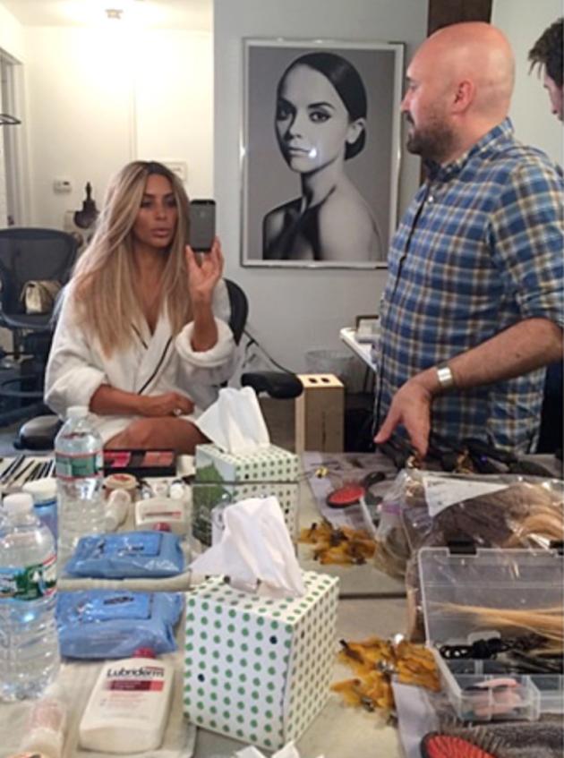 Kim Kardashian Blonde Pic