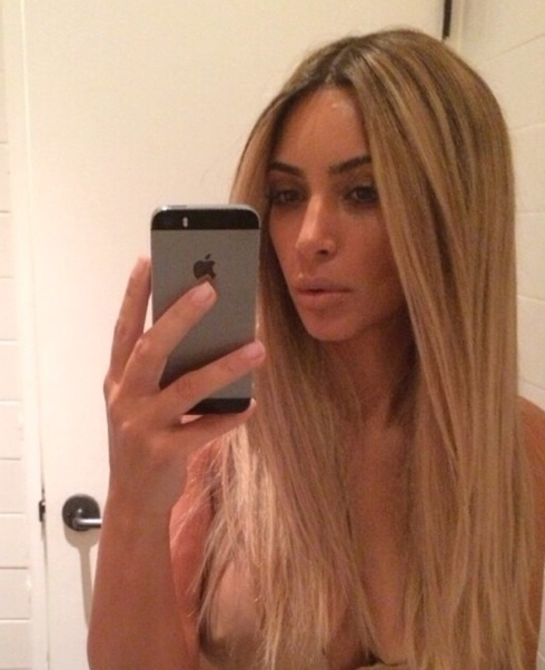 Kim Kardashian Nip Slip