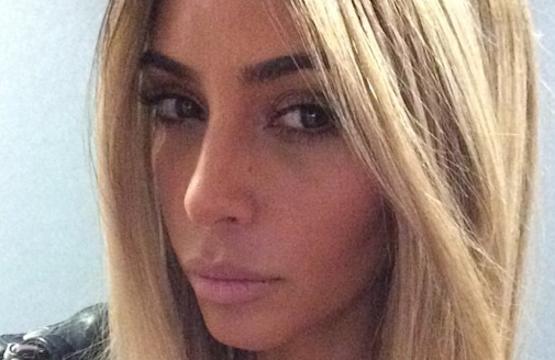 Blonde, Plastic Kim Kardashian