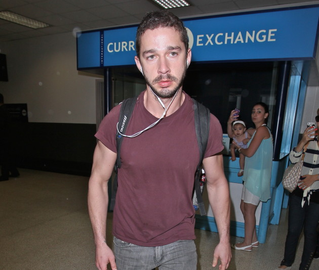 Shia LaBeouf at LAX