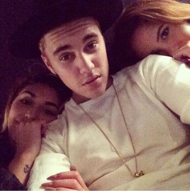 Justin Bieber With Chantel Jeffries