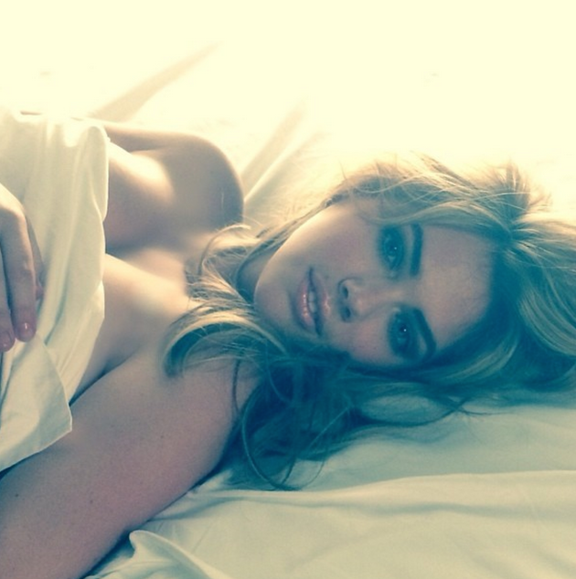 Kate Upton in Sheets