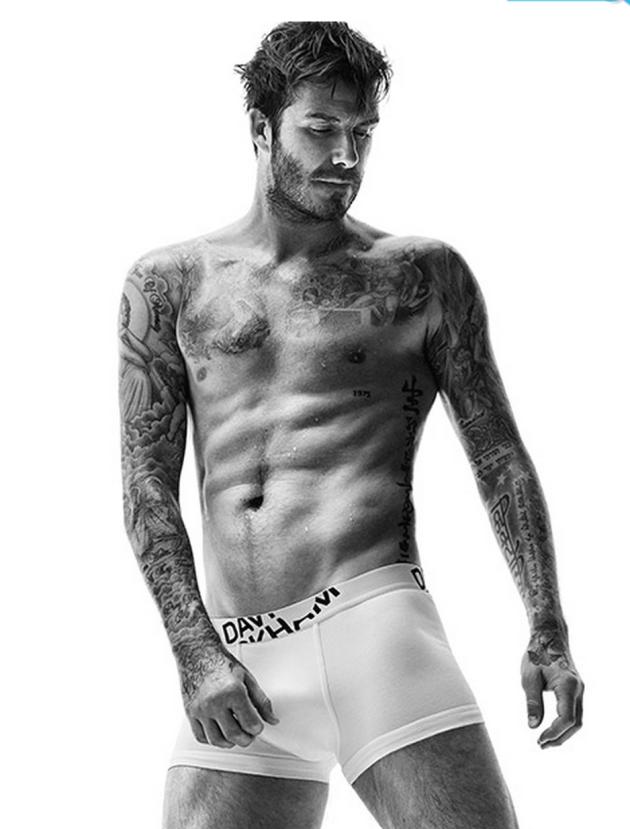 David Beckham H&M Pic