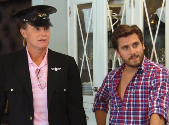 Bruce Jenner in Uniform