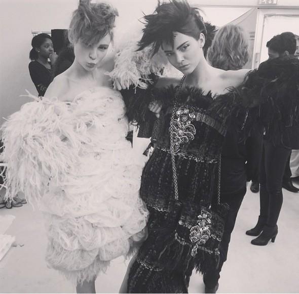 Kendall Jenner Paris Fashion Week Photo
