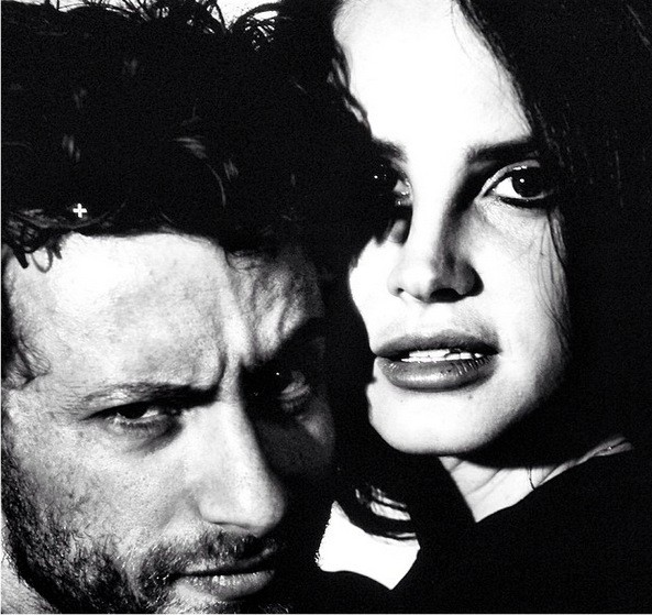 Lana Del Rey and Francesco Carrozzini