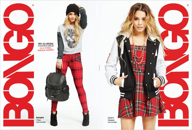 Vanessa Hudgens Bongo Jeans Ads