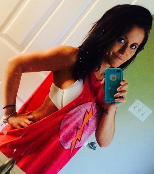 Jenelle Evans Bra Selfie
