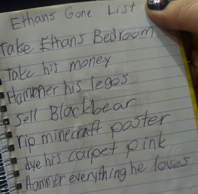 Girl's To-Do List