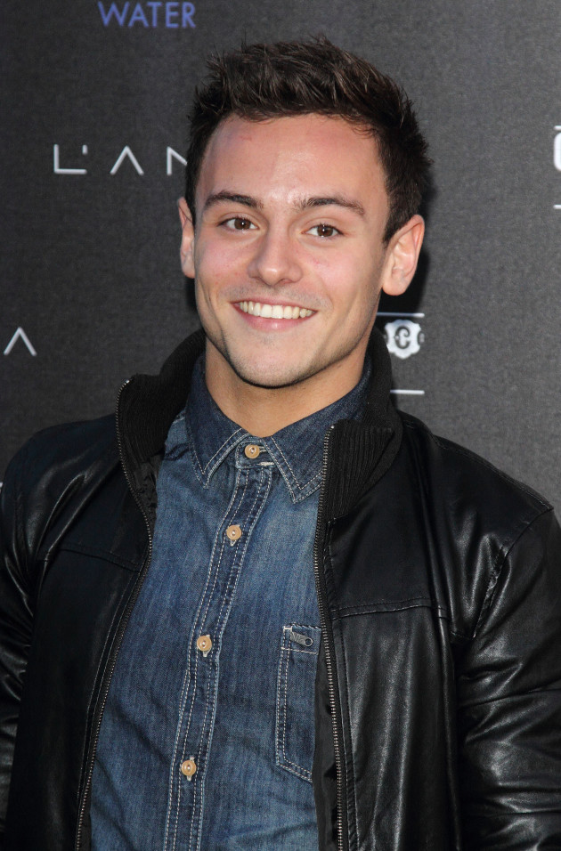 Tom Daley Red Carpet Pic