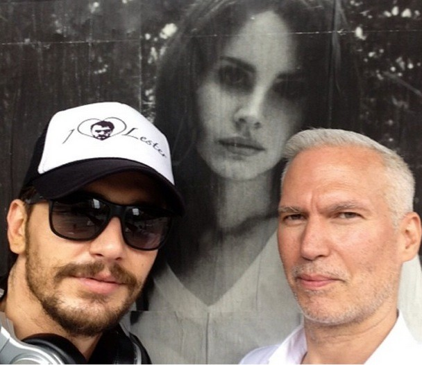 James With Lana Poster