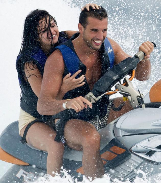 Tommy Chiabra and Selena Gomez