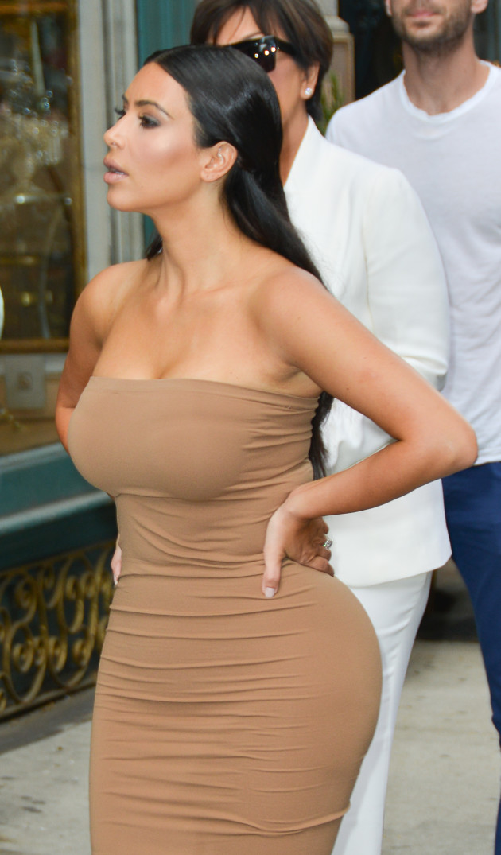 Kim Kardashian Street Photo