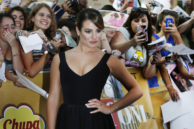 Lea Michele in Black