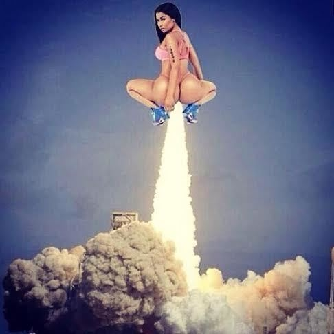 Nicki Minaj Blasts Off