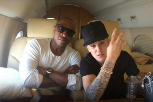 Jay Williams and Justin Bieber