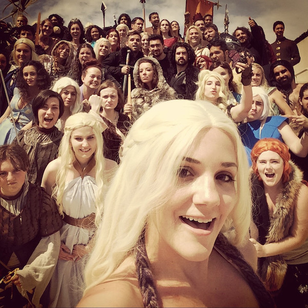 Game of Thrones Cosplay Selfie