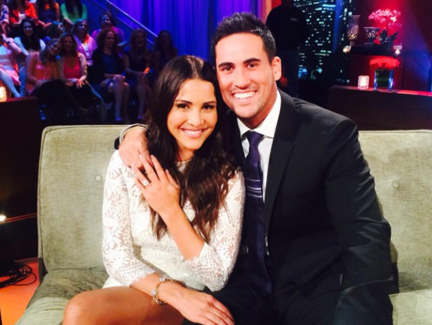 Andi Dorfman and Josh Murray on The Bachelorette