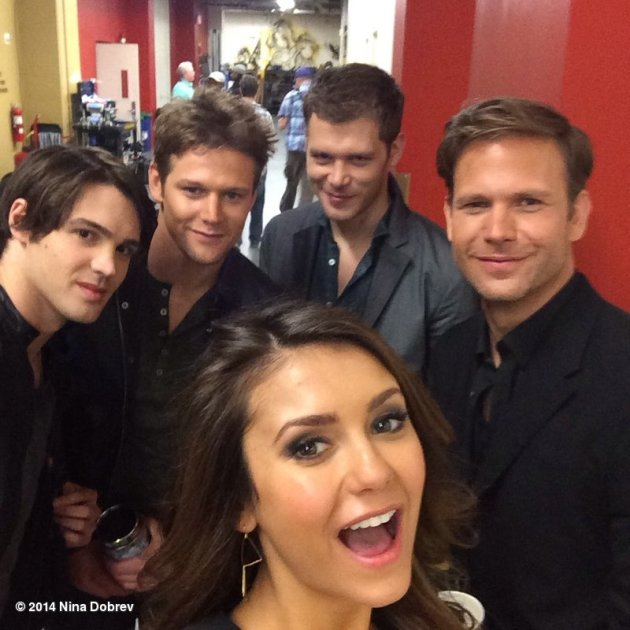 Nina Dobrev and Co-Stars