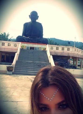 Khloe Kardashian in Tibet