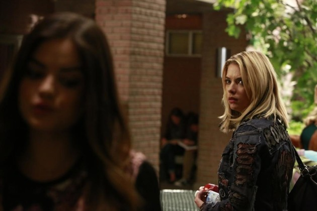 Hanna on Pretty Little Liars