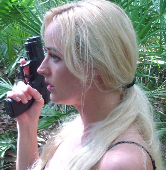 Bunny Hunter with a Handgun