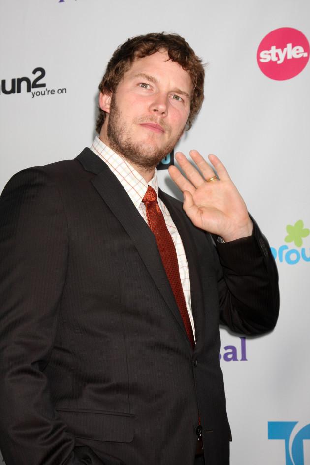 Chris Pratt in August 2011