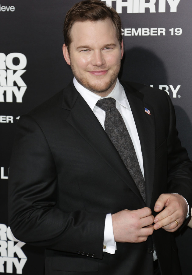 Chris Pratt in December 2012