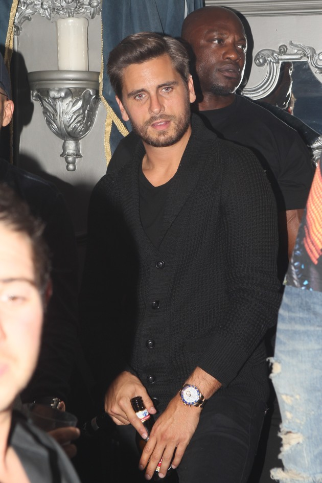 Scott Disick in Da Club