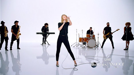 Taylor Swift Video Still