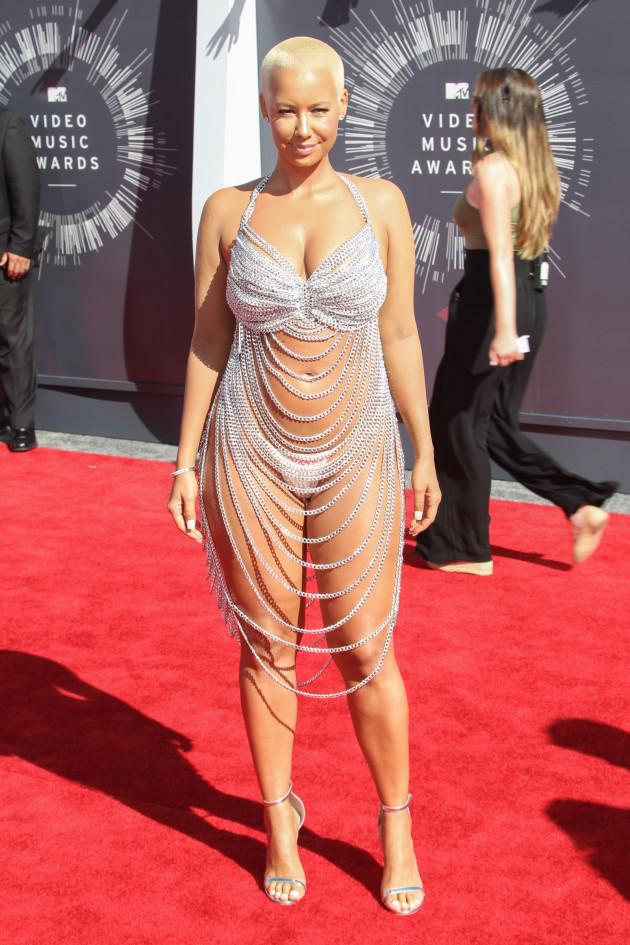 Amber Rose at the VMAs