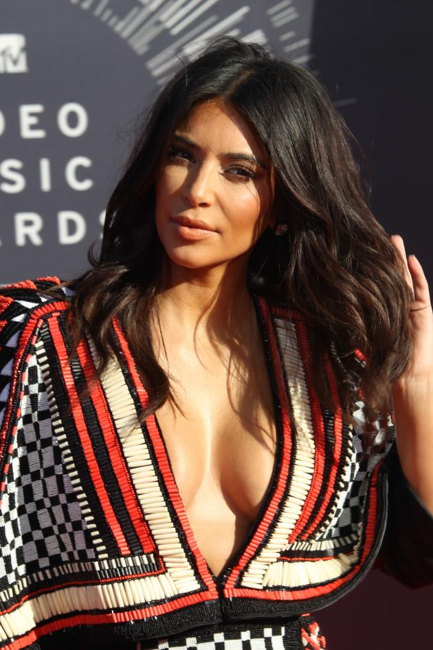 Kim Kardashian at MTV Video Music Awards