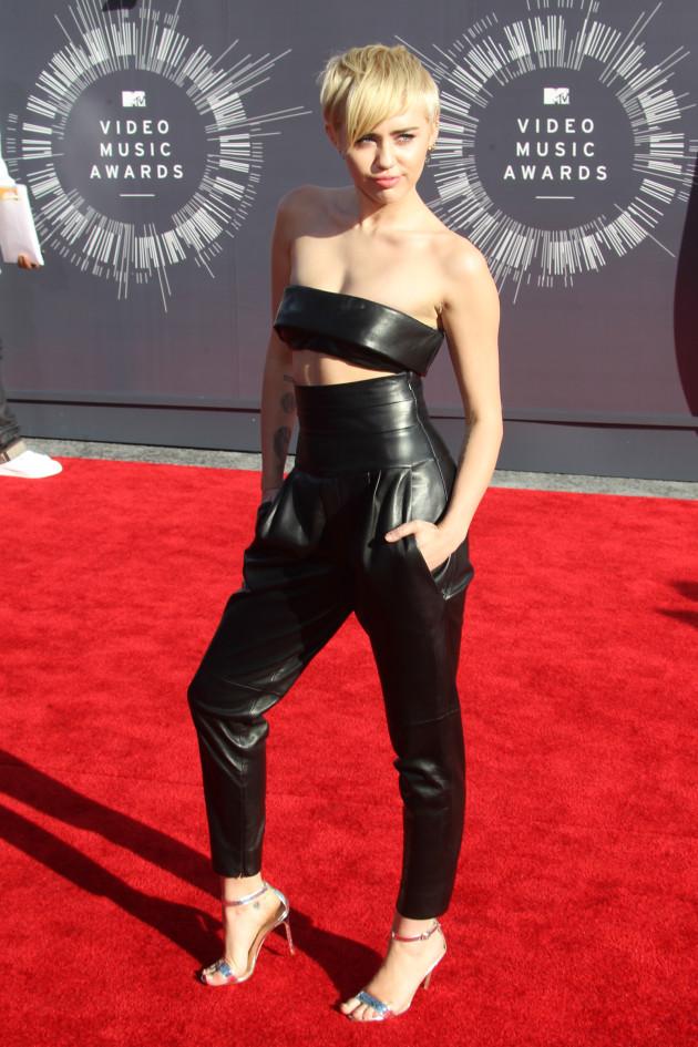 Miley Cyrus at 2014 VMAs