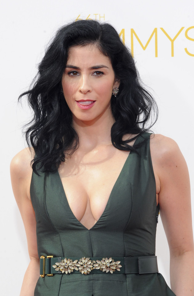 Sarah Silverman at the Emmys