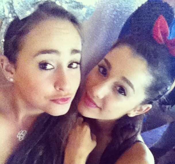 Alexia Luria and Ariana Grande