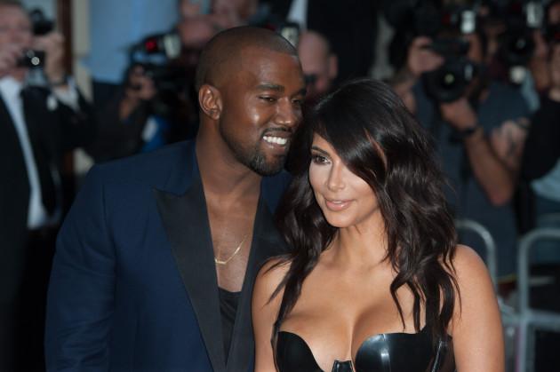 Kim Kardashian at GQ Awards
