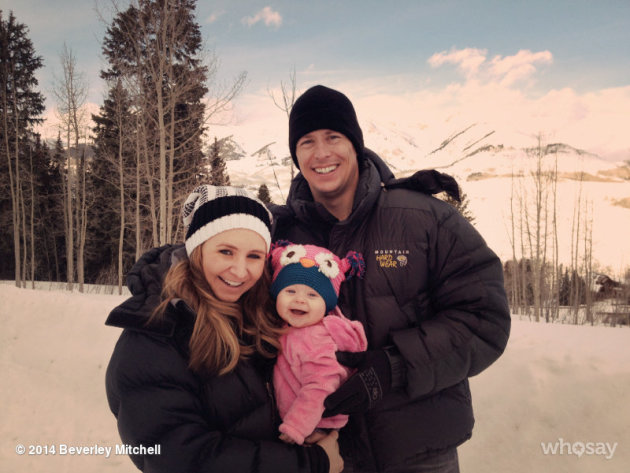 Beverley Mitchell Family Photo