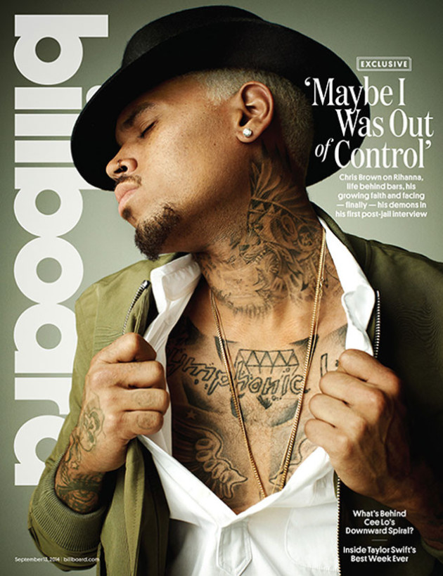 Chris Brown Billboard Cover