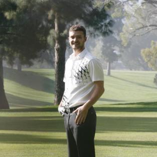 Justin Timberlake Golfing