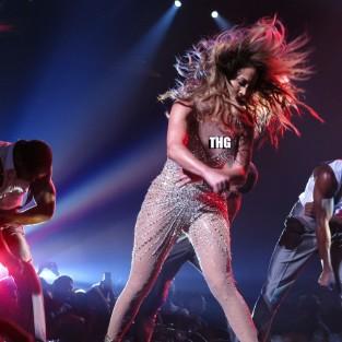 J. Lo Nipple Slip