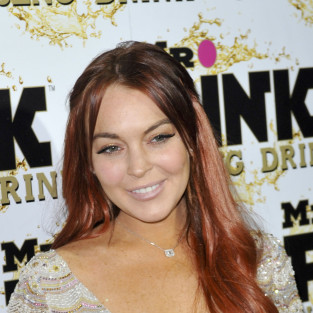 Lindsay Lohan with a Smile