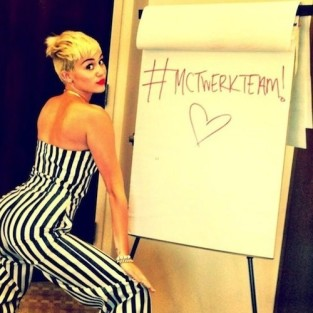 Miley Cyrus Twerk Photo