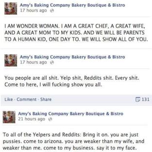 Amy's FB Rant