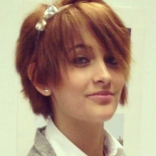Paris Jackson Short Haircut