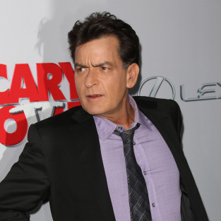 Charlie Sheen at Scary Movie 5 Premiere