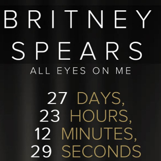 Britney Spears Countdown Clock