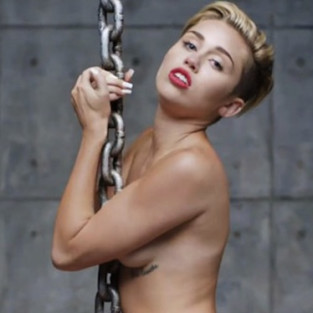 Miley Cyrus Wrecking Ball Image
