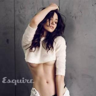 Emmy Rossum in Esquire